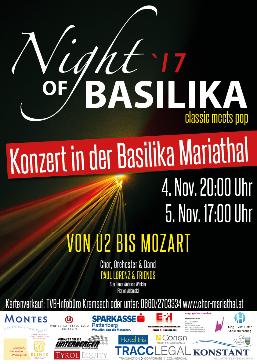 Night of Basilika 2016 - Das Konzert